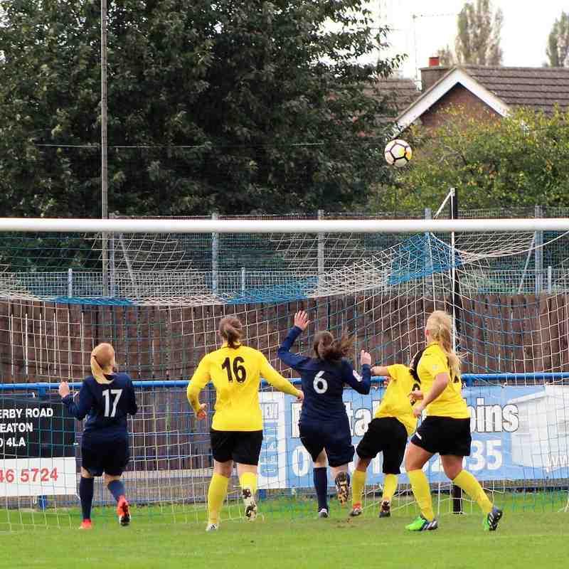 SSE Women's FA Cup LEUFC Vs Leciester City FC