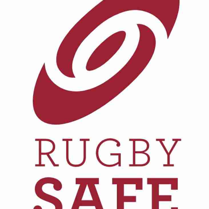 ATTENTION COACHES:  Rugby Safe Course, Mon 4th Sep at the Clubhouse
