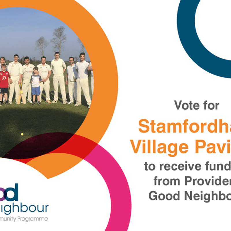 Vote for Stamfordham Pavilion!