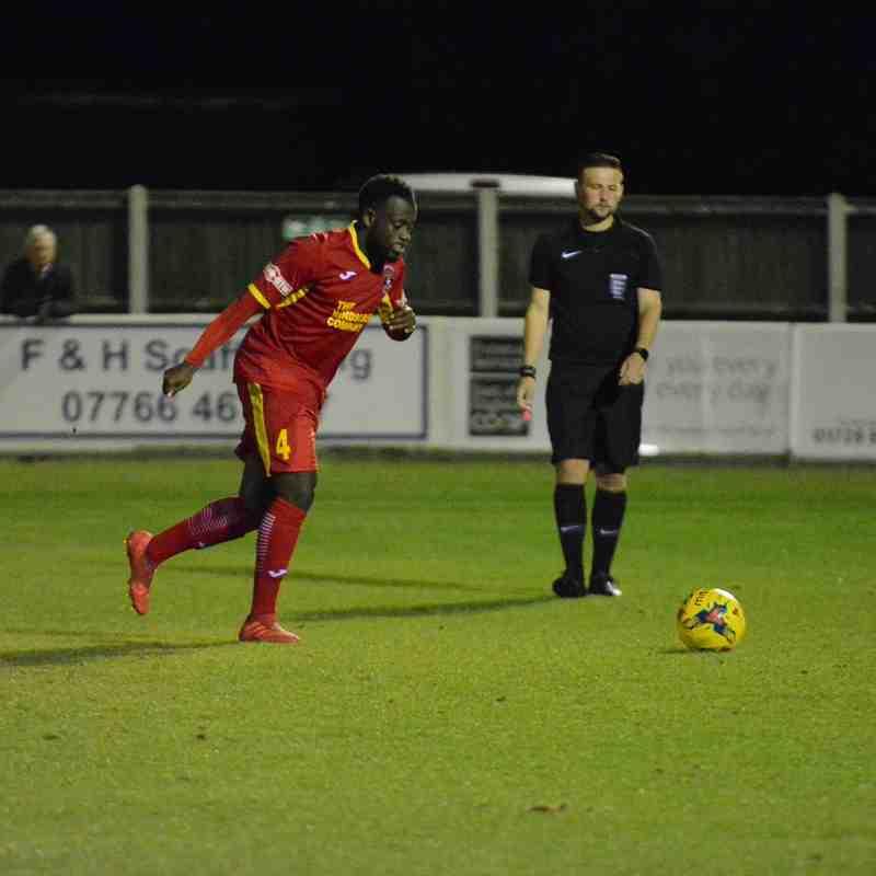 Leiston Vs Needham (League Cup)