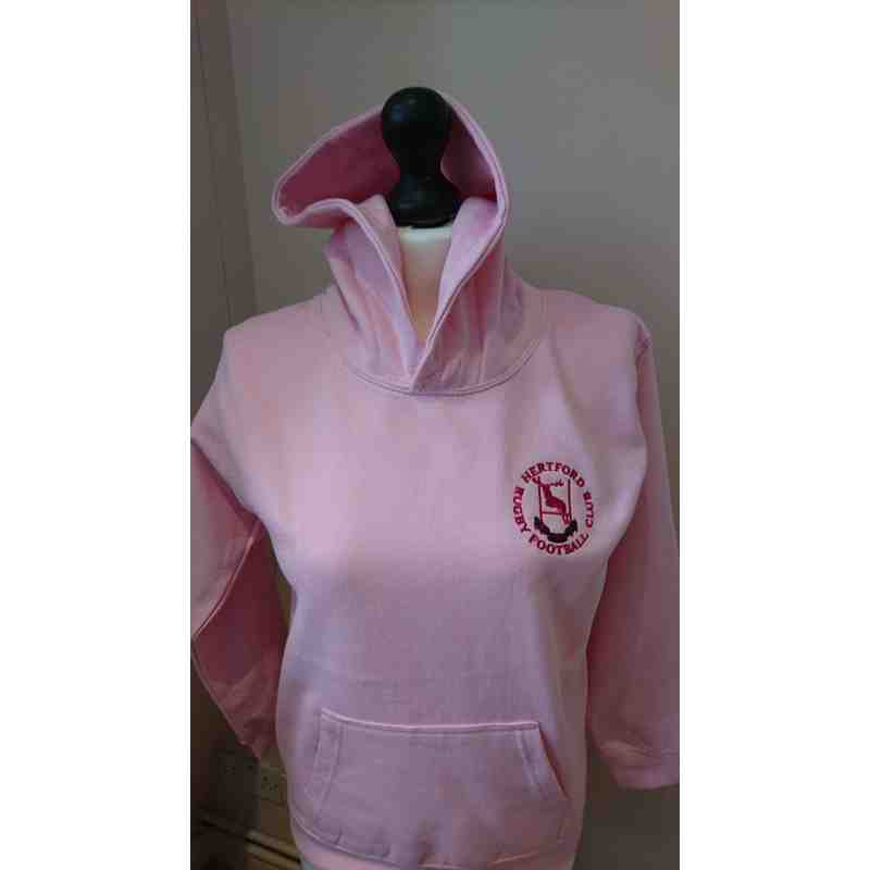 Ladies & Girls Pink Hoodie