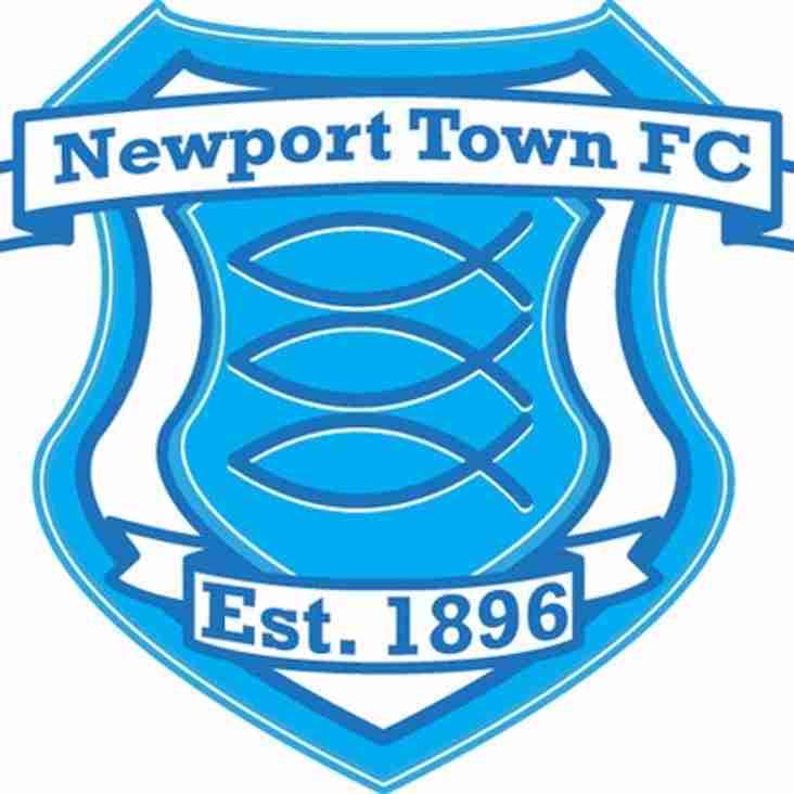 FRIENDLY v NEWPORT TOWN FC WED 31ST @ Greenfeilds
