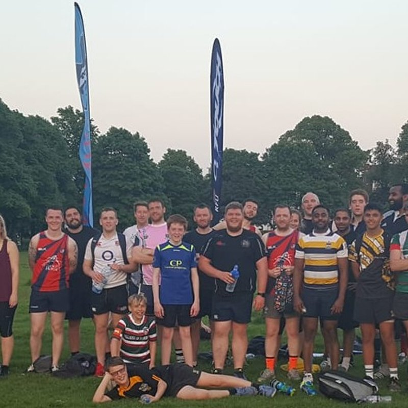 Ath's Leicester O2 Touch Rugby Outlaws goes from strength to strength