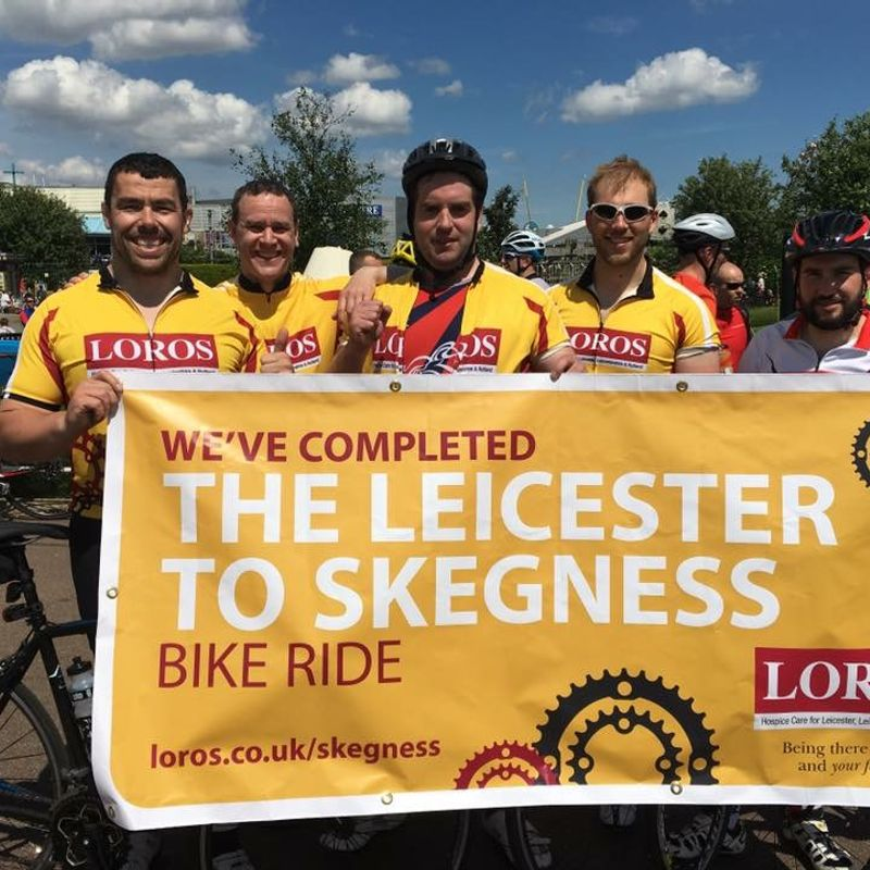 Charity Ride Raises £1840 for LOROS