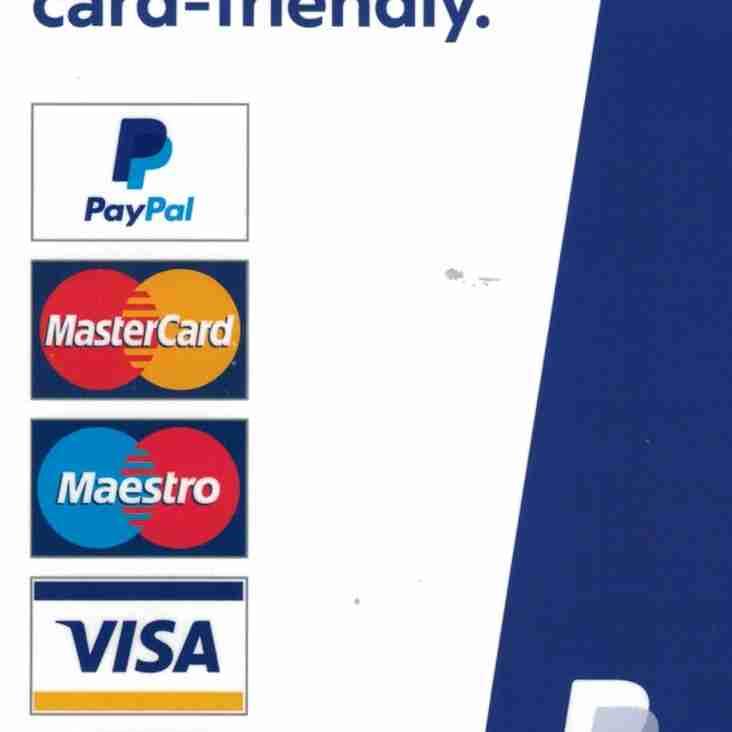 New Card Machine Working This Weekend - 11/12 November