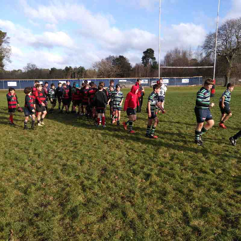 U13s v Reading Abbey 7 Jan 2018