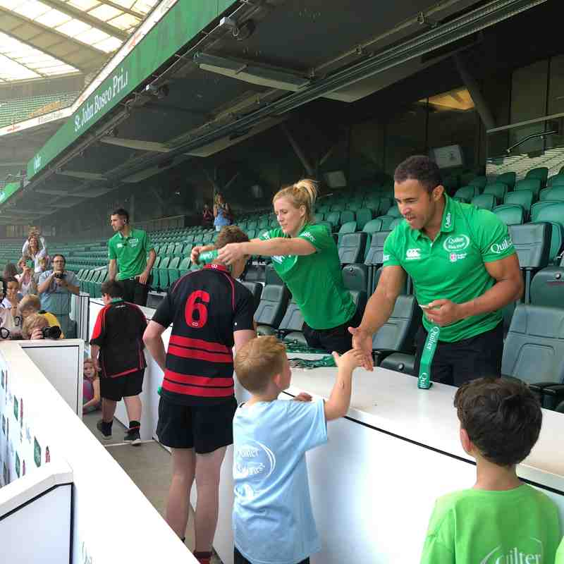 Alton RFC: Quilter Kids First Training Day 2018
