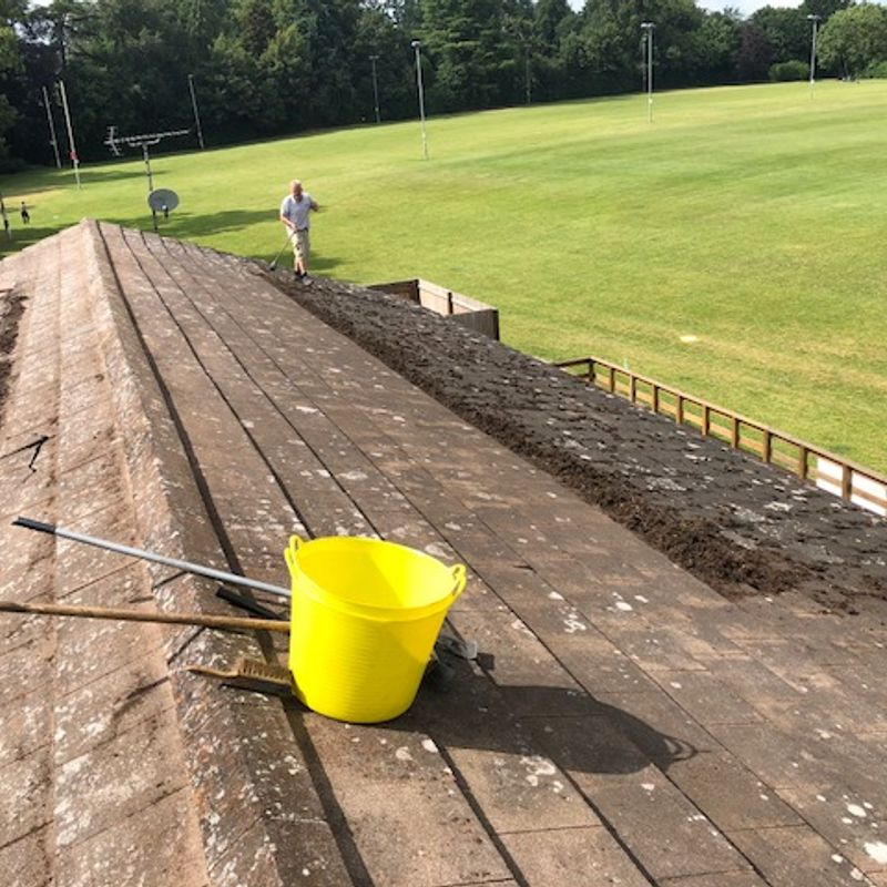 What's Not to 'Like' About our Cleaned Club Roof?