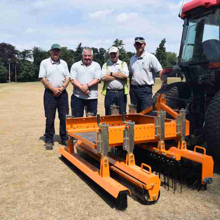 SISIS Quadraplay Equipment Arrives at Anstey Park