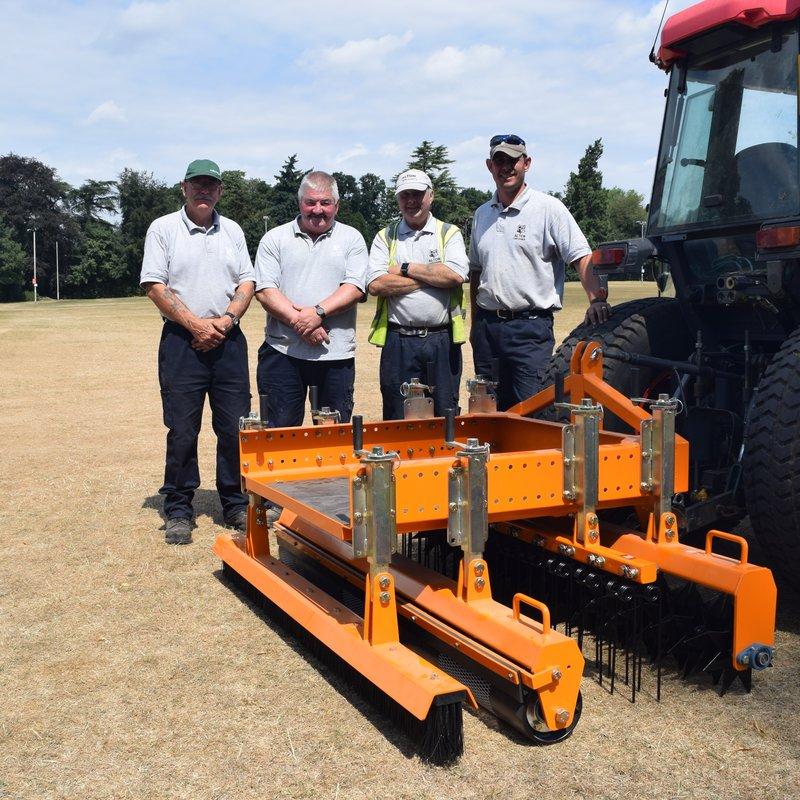 SISIS Quadraplay Equipment Arrives at Anstey Park