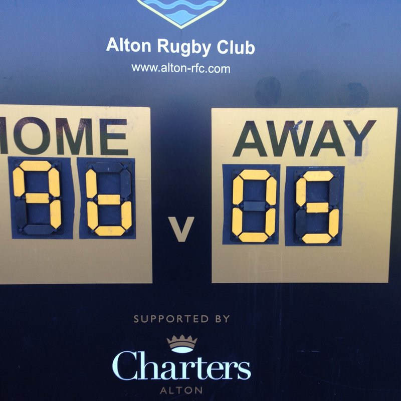 Alton RFC 1st XV Go to the Top of the Table
