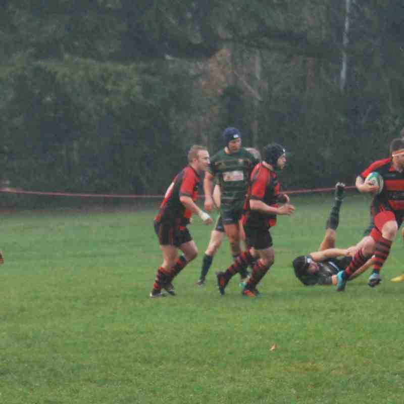 Alton 1st XV v Locksheath Pumas - 8 December 2018