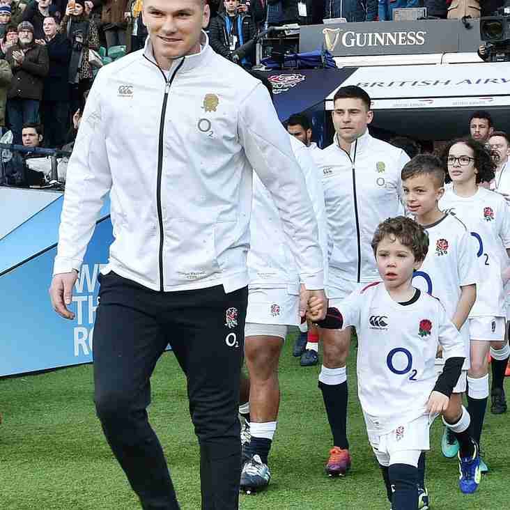 Alton Player Leads England Out At Twickenham