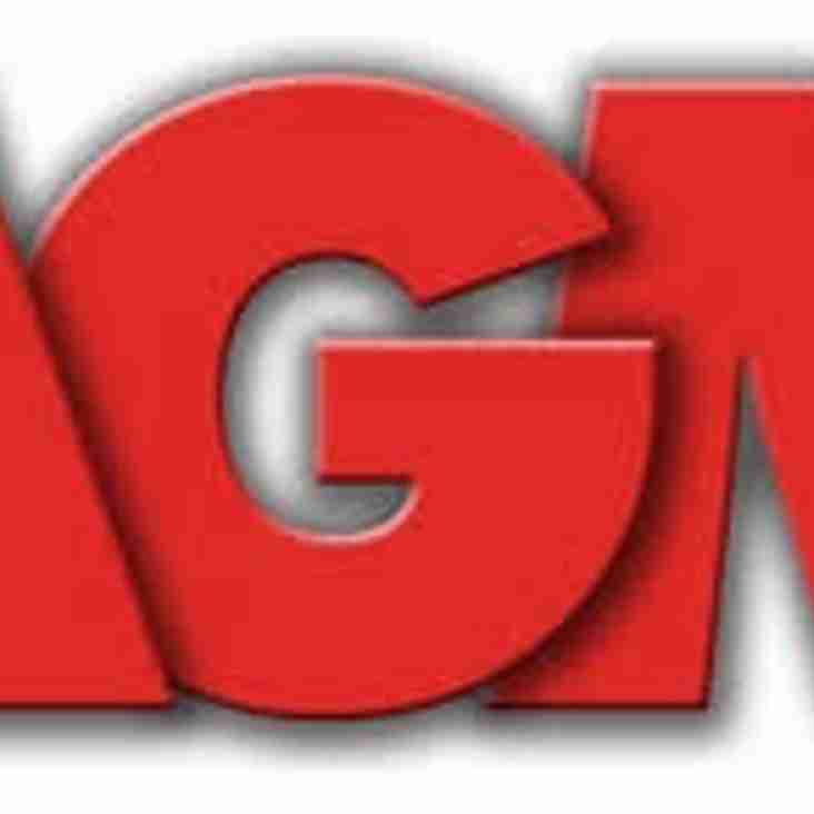 ALTON RFC AGM - FRIDAY 12 JULY