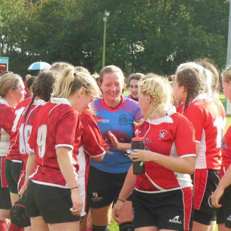 2017/09/17 Woodbridge Ladies v Lakenham-Hewett Ladies (League Match)