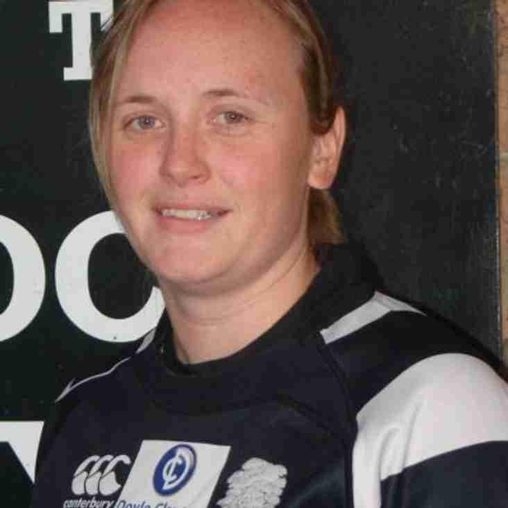 Scottish Cap for Jodie Rettie, ex-Lakenham-Hewett Ladies Player