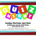 Quiz Night for the Generally Knowledgeable! - CASH PRIZES