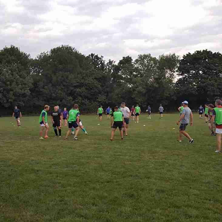 Great Turn out as Crawley RFC start pre season training (Fitness was involved!)