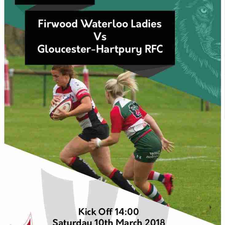 Firwood Waterloo Ladies 10 - 44 Gloucester-Hartpury Women