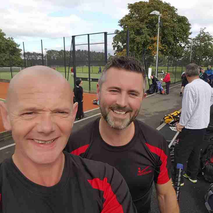 Tiverton duo represent Devon and Cornwall in Over 40s tournament
