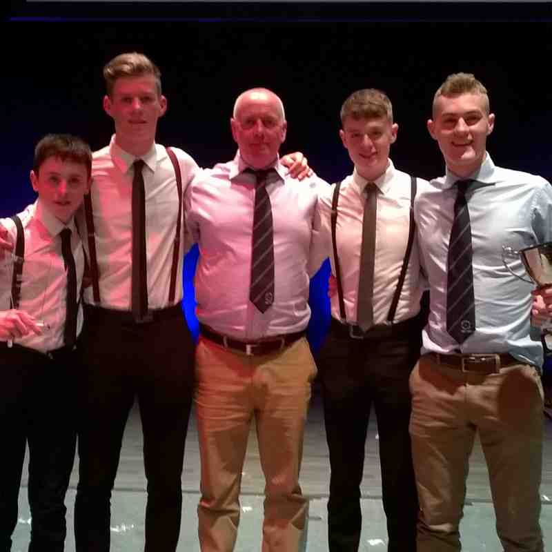 U18 Boys win Dundee Young Team of the Year 2017