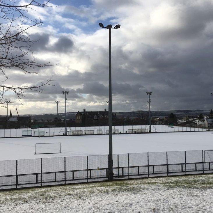 All hockey cancelled!<