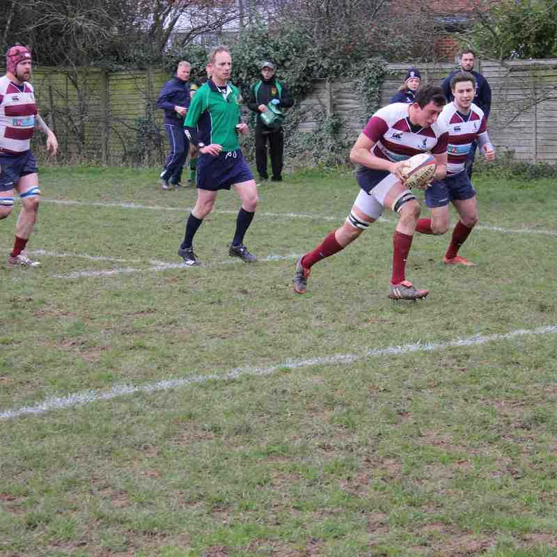 1st XV vs Stevenage 27 Feb 2016