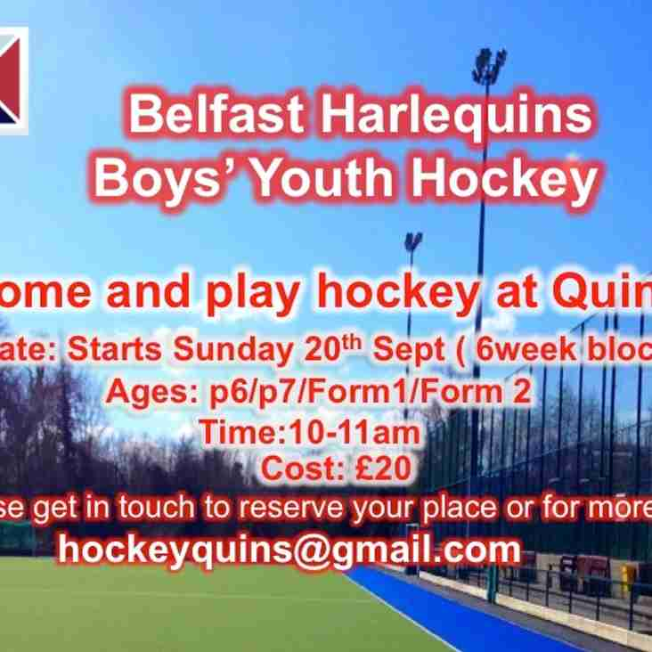 Belfast Harlequins Boys' Youth Hockey