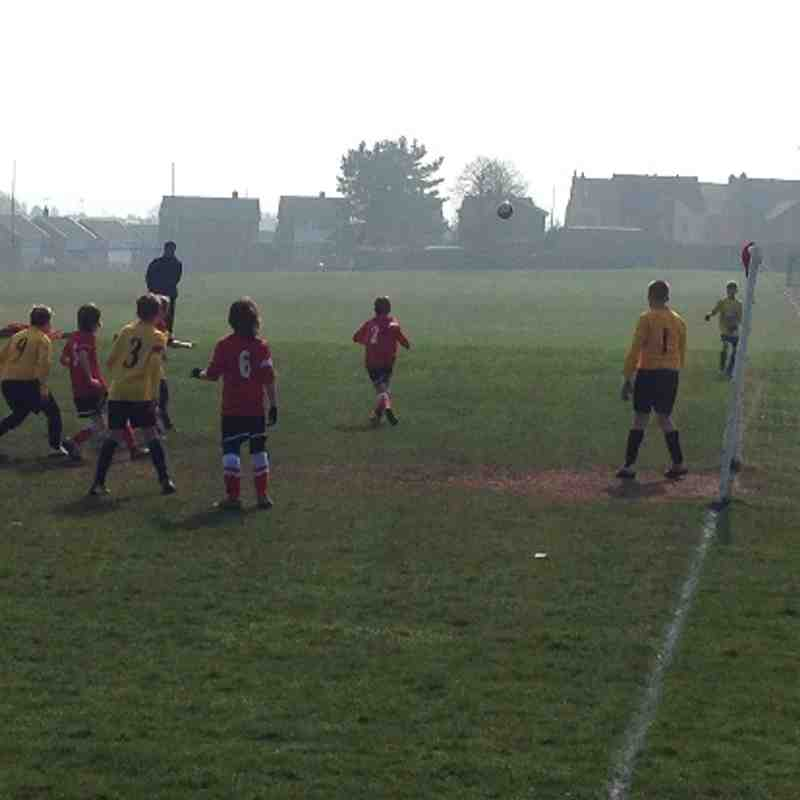 U10's v Babworth Rovers(Home)