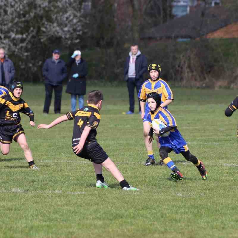 Crosfield V's Leigh M.R Golds N/W Cup