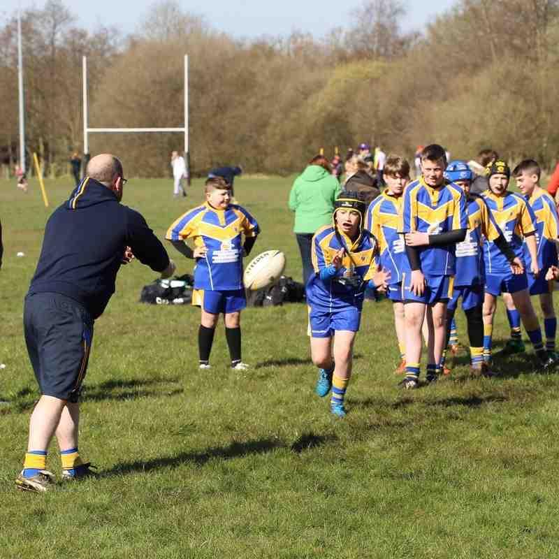 Hindley V's Crosfield N/W Cup
