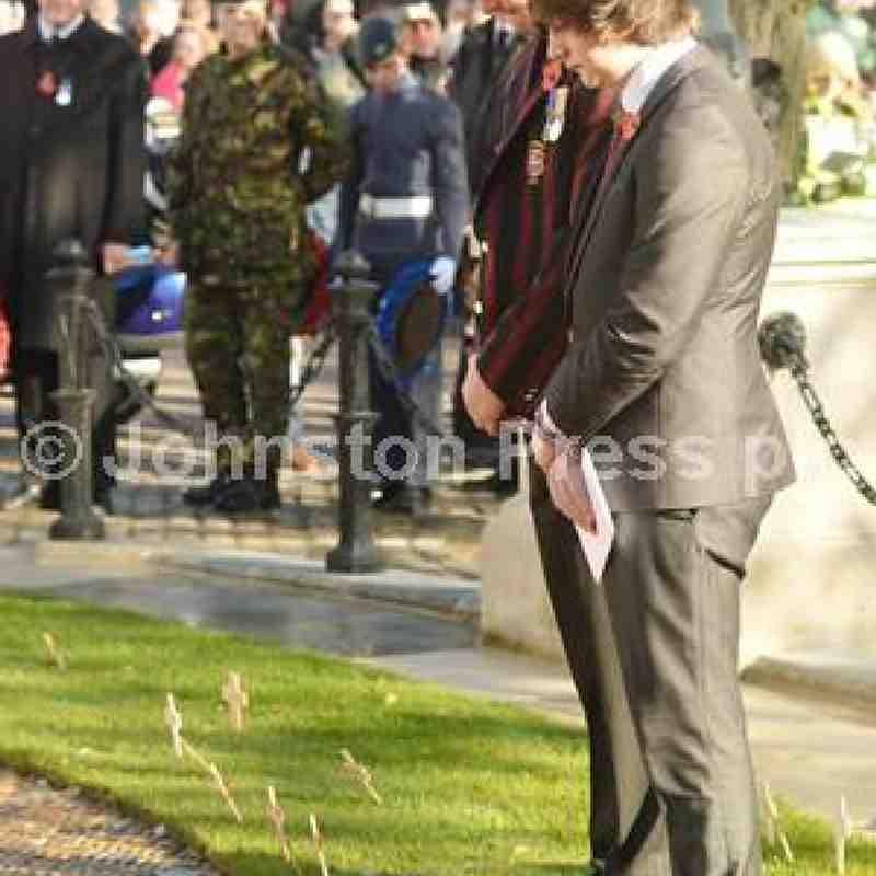 ARFC Remembrance Sunday