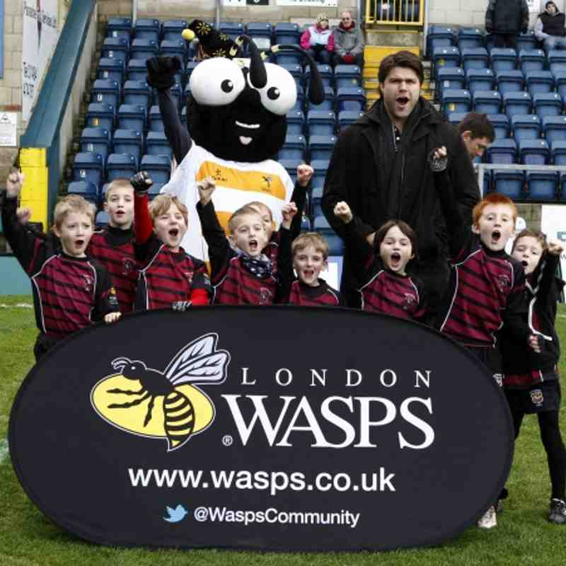 U8s at Wasps 23/12/12