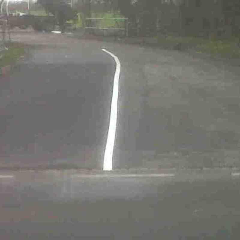 ARFC's new driveway