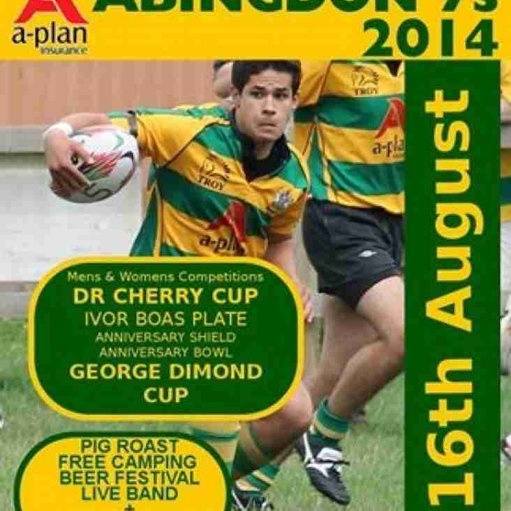 Abingdon 7s - 16th August