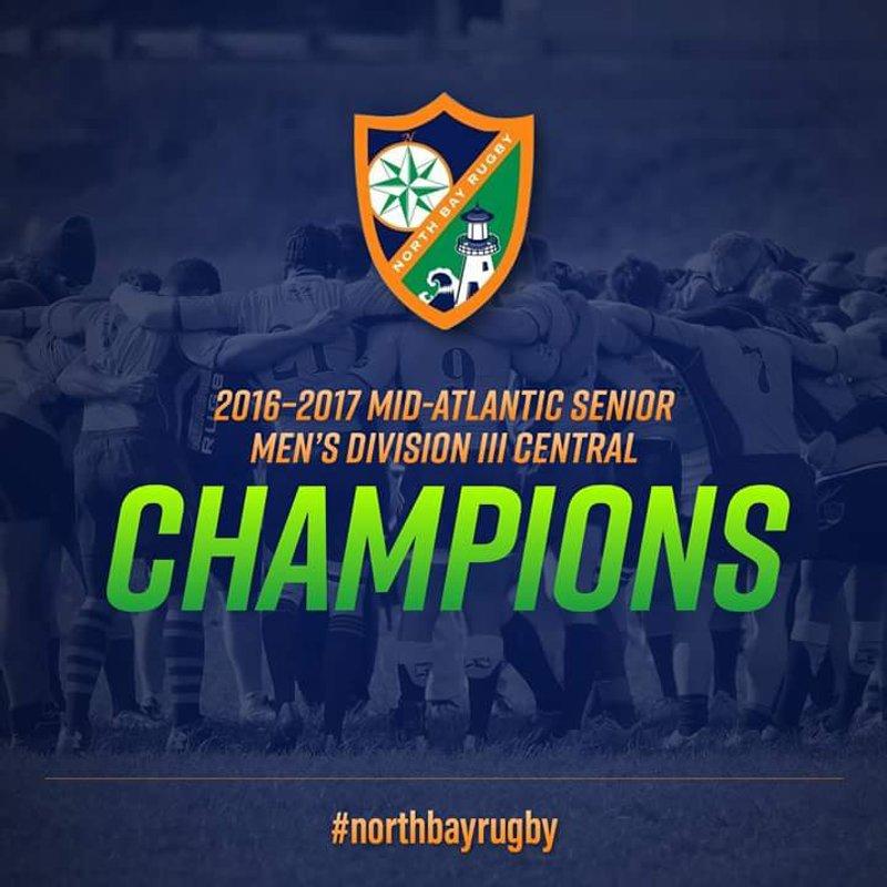 North Bay Men are D3 Mid-Atlantic Central Champions!