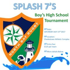 Boy's Splash 7's tournament 2017