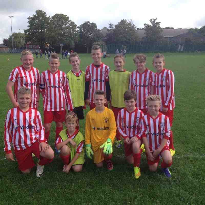 U12's Season Lutterworth Away 2014/2015