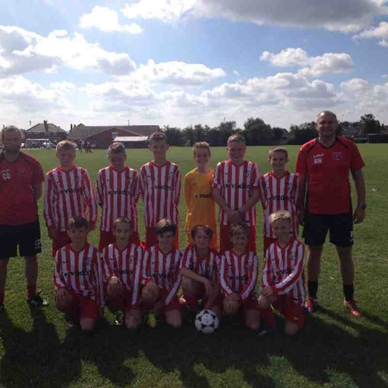 U12's Season Oadby Home 2014/2015