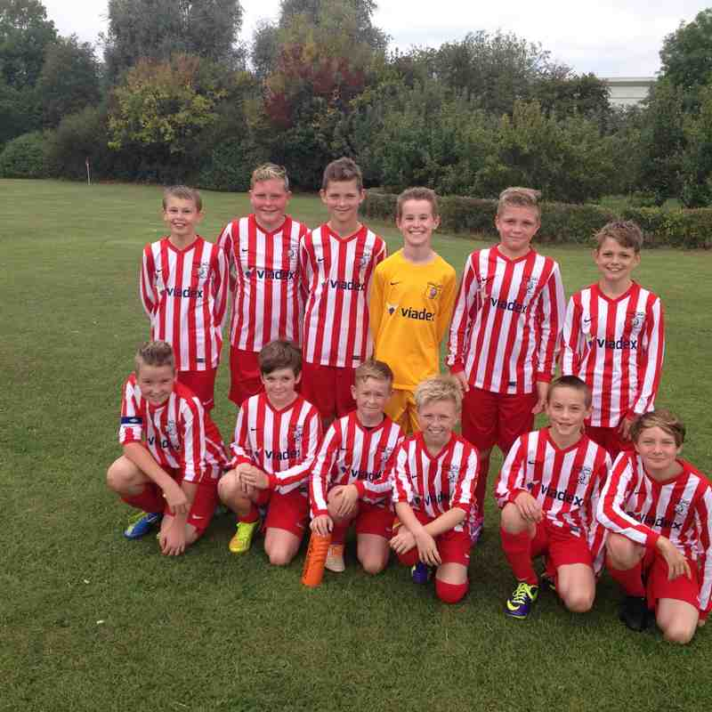 U12's Season Oadby Away 2014/2015