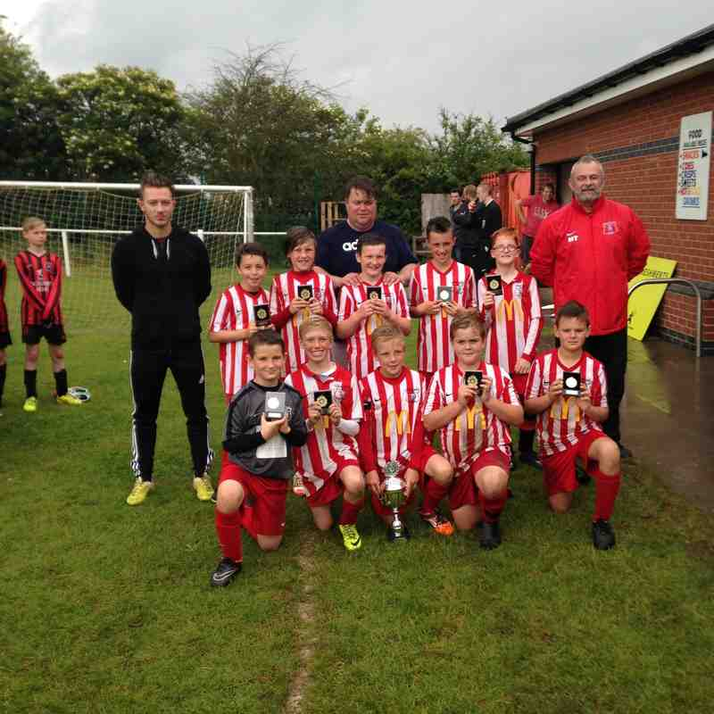 U12's 2015/16 Thringston Tournament Winners