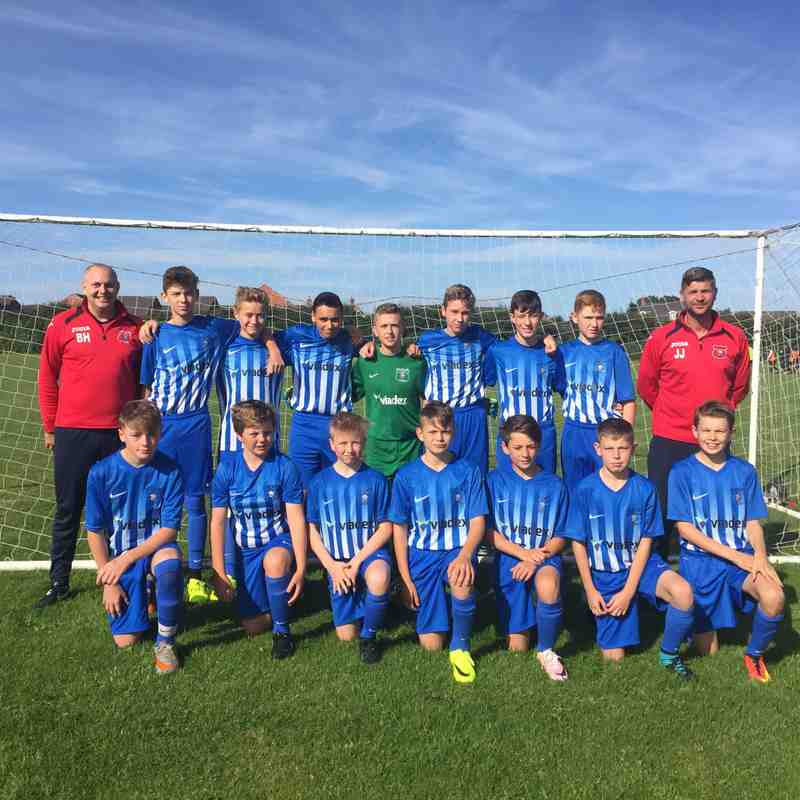 U14's Utd v Mountsorrel Tigers - Sun 11 Sep 2016