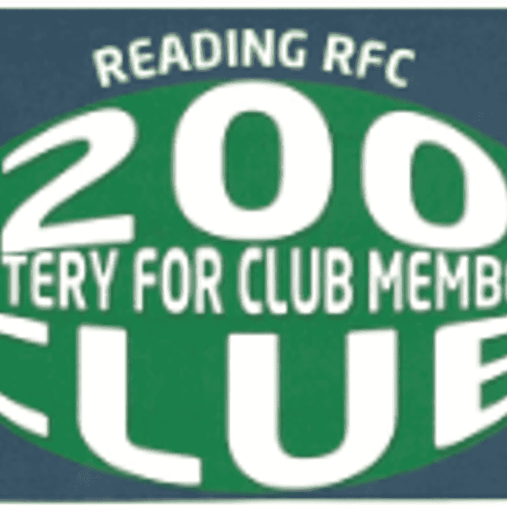 200 Club Newsletter Number 17 July 2018