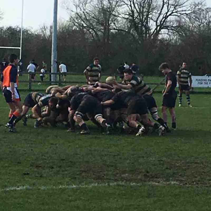 Reading v Gosford All Blacks April 2018