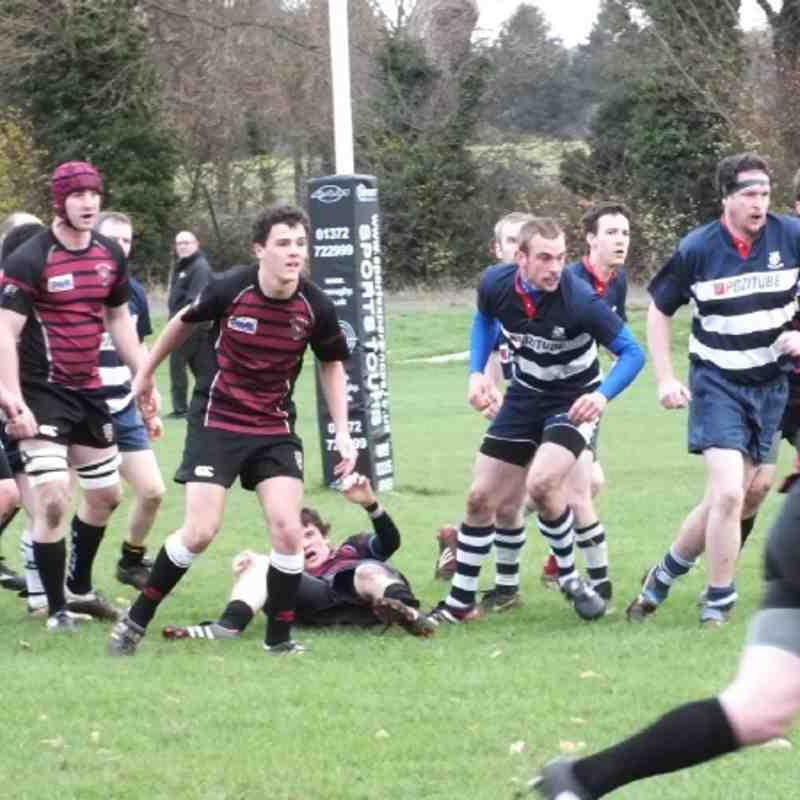 3rd XV v Banbury II 26th November 2011