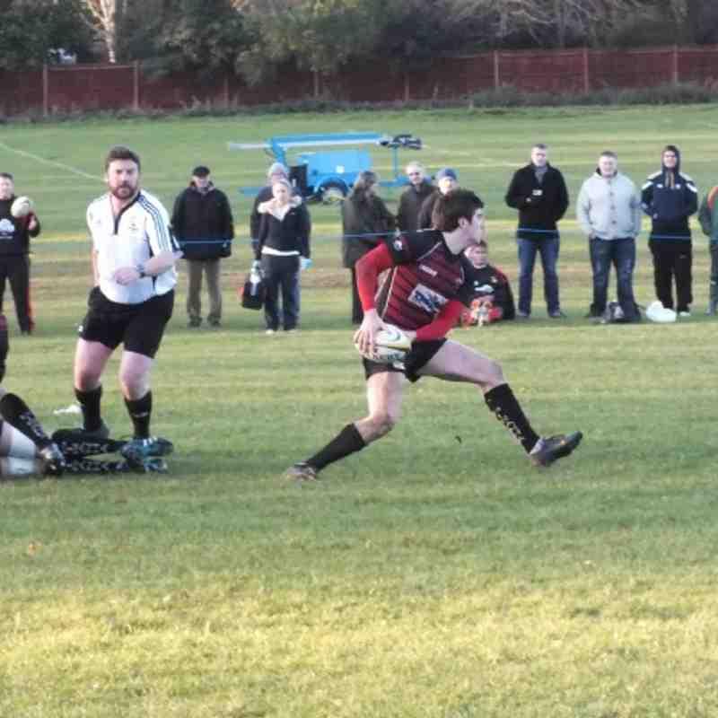 1st XV v Beaconsfield 10th December 2011
