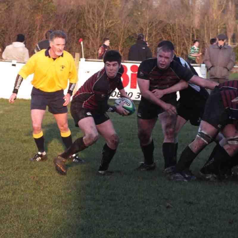 1st XV vs Wootton Bassett 14th Jan 2012