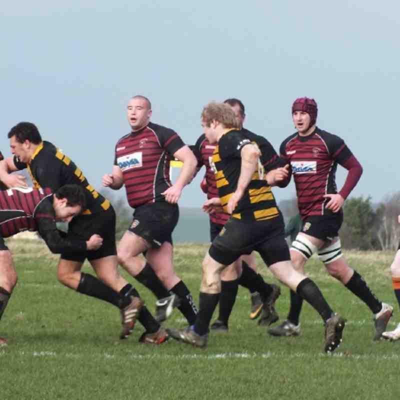 1st XV vs Marlborough 21st January 2012