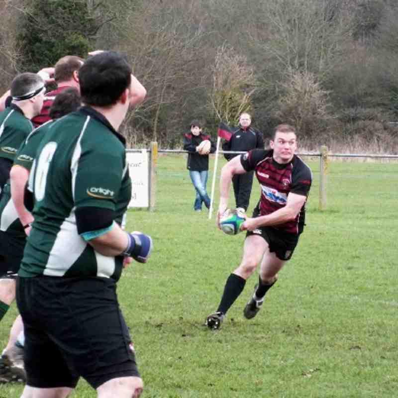 1st XV vs Slough 28th January 2012