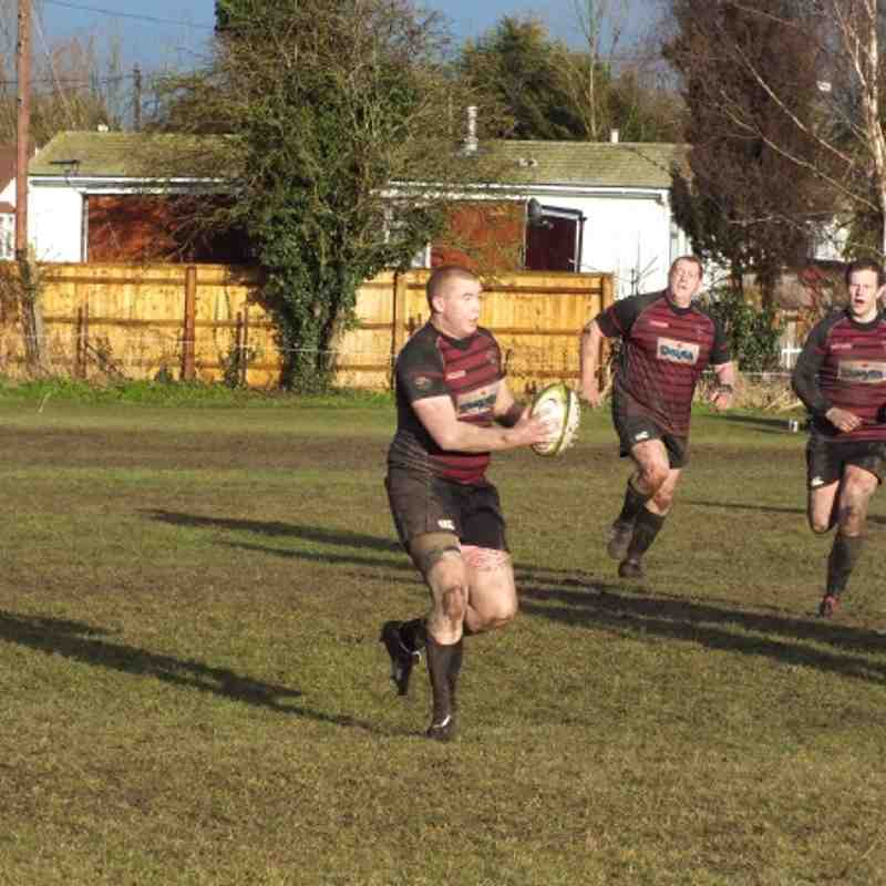 1st XV vs Grove - Southern Counties Cup 18th February 2012